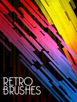 Retro Brush Set by Qbrushes