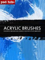 Acrylic Brushes by Qbrushes