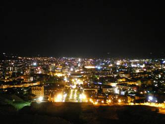 Yerevan by Night by Faelf
