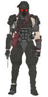 Tengu Commando by Mr-Gabriel