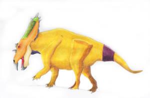 Utahceratops by PaleoJoe