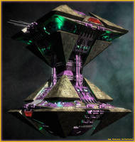 Centauri trading station by Amras-Arfeiniel