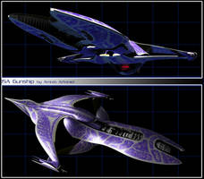ISA Gunship by Amras-Arfeiniel