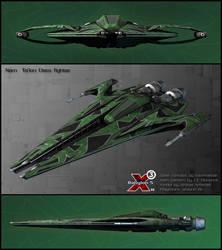 Narn Ta'lon Class fighter by Amras-Arfeiniel