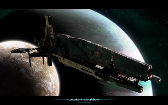 Levian station by Amras-Arfeiniel