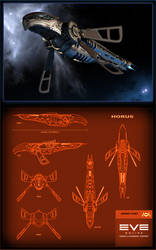 EVE Contest - Amarr Horus by Amras-Arfeiniel