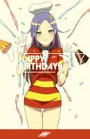 Happy birthday from jollibee tan. by Oinario