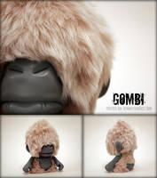 Custom munny- Gombi by StitchesandGlue