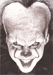 It - Pennywise Clown by kewber