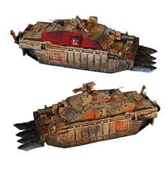Tank conversion by Pyreshard