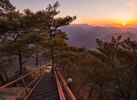 Yeongbong Sunset by RawPoetry