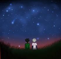 Starry sky by IIIErrorIII