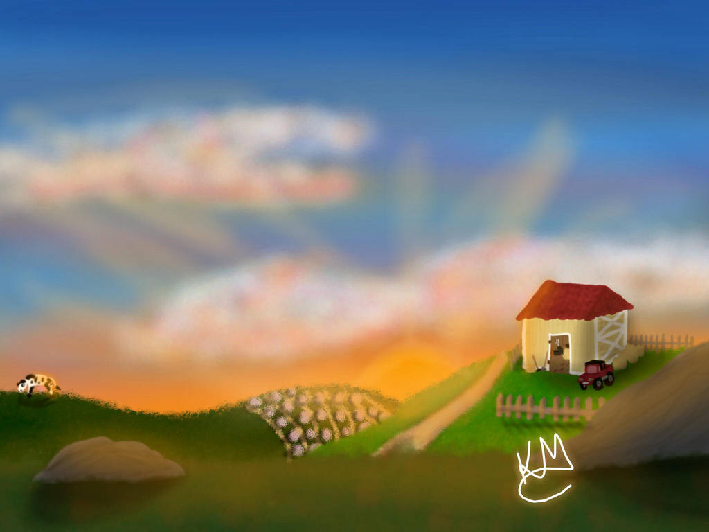 little farm by KarineMattos