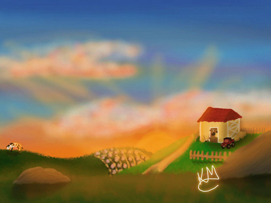 little farm (Edited) by KarineMattos