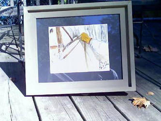 Dressage Horse In Hand watercolor by dawnssong4u