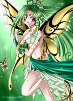 Butterfly Goddess 2 by ferus