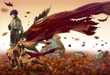Autumn's Wind by ferus