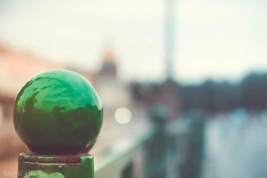green fence by amy-ichibi