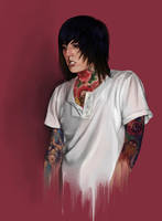 Oliver Sykes by AMSBT