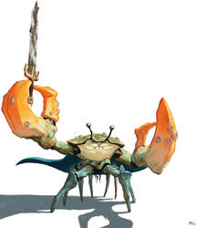 Crab Hero by Tanatalus