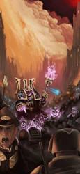 Warhammer 40k Sorceror by Tanatalus