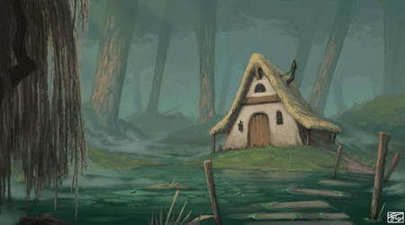 Witch hut by Tanatalus