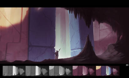 Ruin exploration by Tanatalus