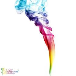 Rainbow way by LadyCarnal