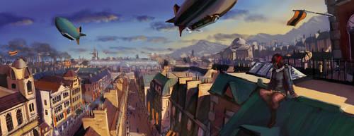 AA: Koben Rooftops by 4nimeCub3