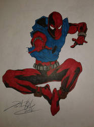 Scarlet spider 3 by Josh-Boffa