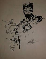 Iron Man or boredom by Josh-Boffa