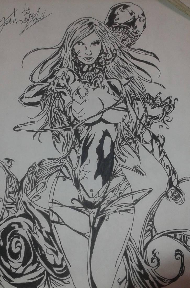 Lady Venom by Josh-Boffa