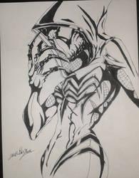 Spider-Gwenom by Josh-Boffa