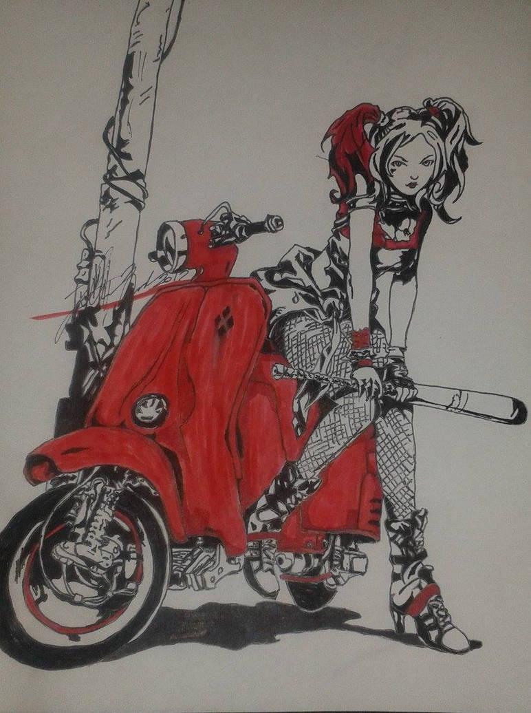 Harley Quinn by Josh-Boffa