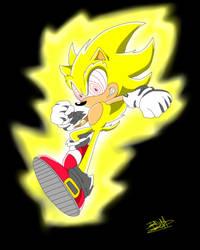 Fleetway Super Sonic - Sonic X by Estefanoida