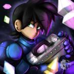 Shady Megaman Volnutt by Estefanoida