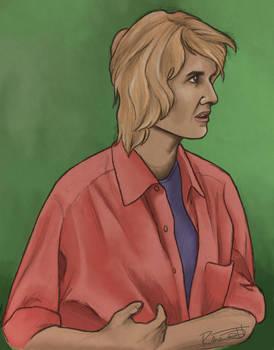 Ellie sattler by halfpennyro04