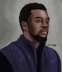 Black Panther by halfpennyro04