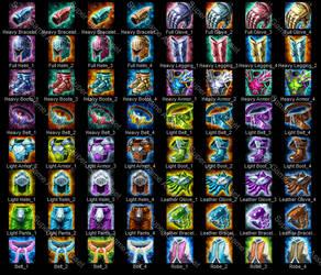 Epic RPG Equipment Icons by yinakoSGA