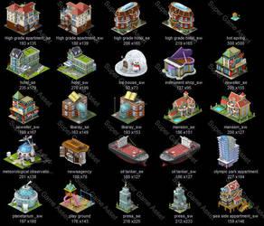 City Builder Set1 02 by yinakoSGA