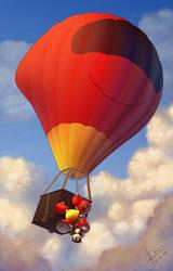 Robo bug balloon by TheNass