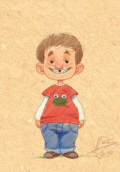Kid sketch by TheNass