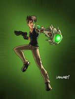 Justice League Asero by iANAR