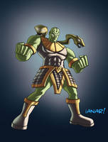 Justice League Zuma by iANAR