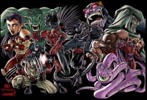 Marvel Superheroes by iANAR