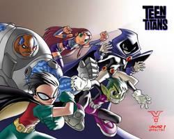 Teen Titans by iANAR