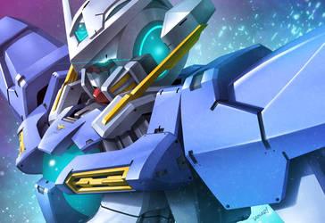 Gundam Exia by iANAR