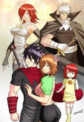 Exile: The Royal Family commish xhe4dspl1tt3r by iANAR