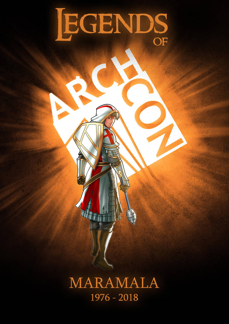 Legends of ARCHCON 2018 tribute promo art by iANAR