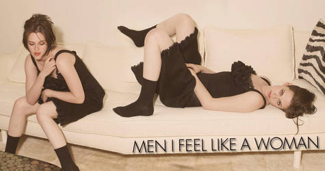men feel like a woman by ezmephotography